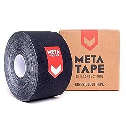 MetaTape Kinesiology Tape, 2 in. x 25 ft. Uncut Roll