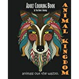 Libro para Colorear Animal Kingdom: Animals Out The Wazoo para adultos