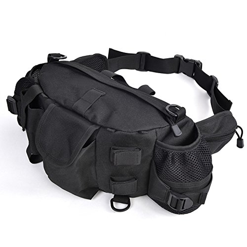 outdoor-mens-leisure-sport-outdoor-cycling-running-utility-oxford-pocket-waterproof-bag-164111cmblac