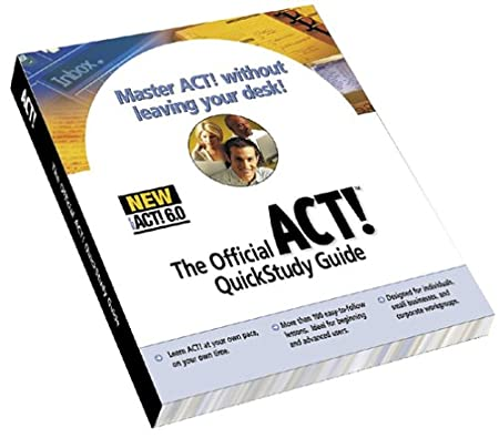 QuickStudy Guide for ACT!