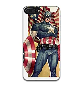 Happoz Apple Iphone 7 Plus Cases Back Cover Mobile Pouches Shell Hard Plastic Graphic Armour Premium Printed Designer Cartoon Girl 3D Funky Fancy Slim Graffiti Imported Cute Colurful Stylish Boys D081