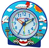 Jacques Farel Childrens Time Teaching Alarm Clock Alarm Clock Aeroplane