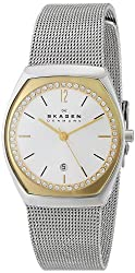 Skagen End-of-Season Analog White Dial Womens Watch - SKW2050