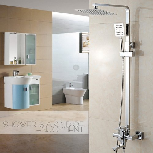 Luxury Rain Mixer Shower Combo
