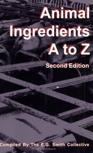 Image for Animal Ingredients A-Z