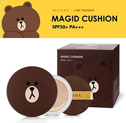 ミシャ MISSHA ラインフレンズ マジック クッション 本品1個+リフィル2個 LINE FRIEND MASIG CUSHION #23 001-MI