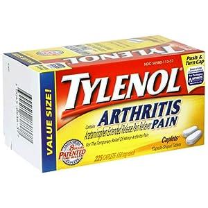 Tylenol Arthritis Pain , 225-Count Caplets