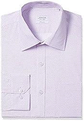 Arrow Men's Formal Shirt (8907378523068_ASSF0299_46_Light Pink)