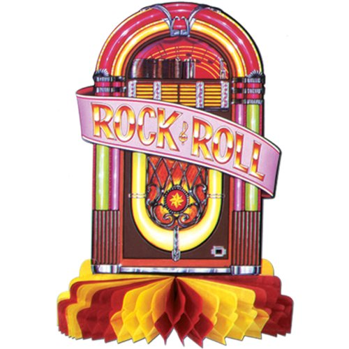 Juke Box Centerpiece Party Accessory (1 count) (1/Pkg)