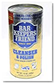 Bar Keepers Friend® Cleanser & Polish: 12 OZ, PK-2