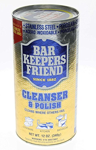 Bar Keepers Friend, Cleanser & Polish, 12 oz (340 g) - 2pc (Bar Keepers Friend Grill compare prices)