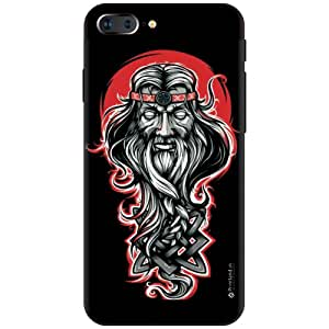 Printland Designer Back Cover for Aplle iPhone 7 Plus - Scarry Face Cases Cover