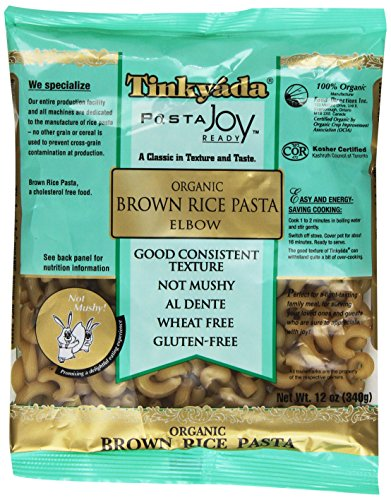 Tinkyada Organic Brown Rice Pasta, Elbow, 12 Ounce (Pack of 12) (Sugar Free Organic Pasta Sauce compare prices)