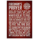 (13x19) A Firemans Prayer Art Print Poster