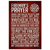 (13x19) A Firemans Prayer Art Print Poster