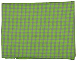 Siyaram Men's Shirt Fabric (Green)