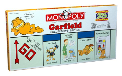 Monopoly: Garfield 25th Anniversary Collector's Edition