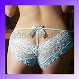 #2: Sexy Cozy Lingerie Panties Briefs Lace Underwear Blue