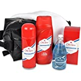 "handverpacktes M�nnergeschenke Set Gentle Man mit Old Spice Aftershave und Duschbad sowie Deospray plus Waschtaschevon ""REIMA AirConcept GmbH"""