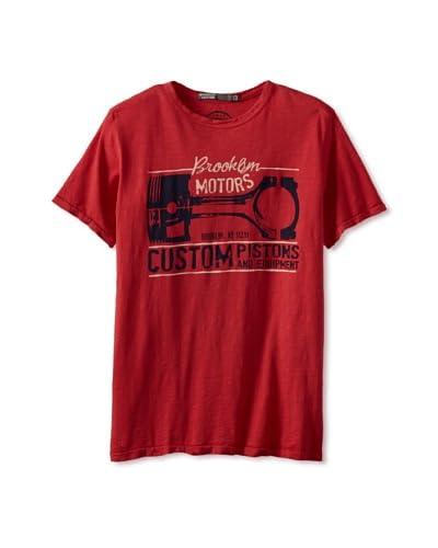 Brooklyn Motors Men's Flatbush Tee  [Red]