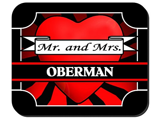 Mr. and Mrs. Oberman - Mouse Pad