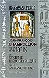 echange, troc Jean-François Champollion - Précis du système hiéroglyphique des anciens Égyptiens
