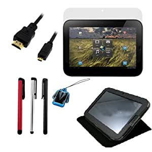 GTMax Accessories Kit for Lenovo IdeaPad K1 10.1-Inch Android Tablet