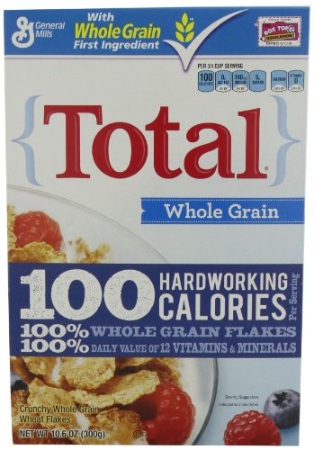 Total Whole Grain Cereal, 10.6-Ounce Box (Pack of 6)