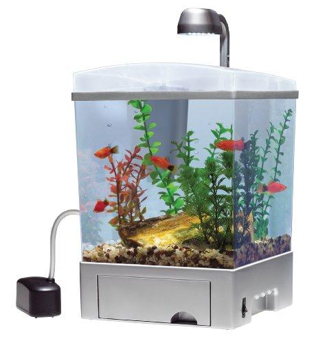 Tetra Aquarium Kit, Silver