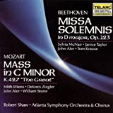 Missa Solemnis / Great Mass in C Minor