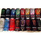 Monster Energy Drink Variety Pack - 16 Pack