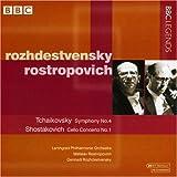 Tchaikovsky: Symphony No. 4; Shostakovich: Cello Concerto No. 1