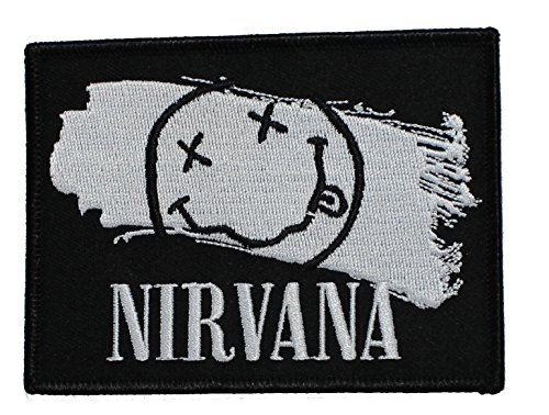 Application Nirvana Smiley Paint Patch