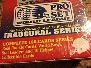 1991 Pro Set World League Football Factory Set