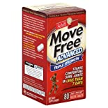 Schiff Move Free Advanced, Triple Strength, Coated Tablets, 80 ct.