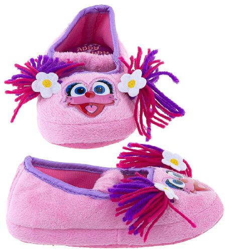 "Cheap Sesame Street Abby Cadabby ""Fairy in Training"" Pink Ballet Slippers 5/6-9/10 (B009NVZM9G)"