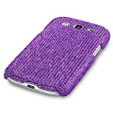 Samsung Galaxy S3 i9300 Diamante Case / Cover / Shell / Shield - Full Purple PART OF THE QUBITS ACCESSORIES RANGEby Qubits