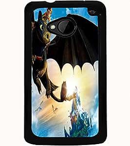 ColourCraft Cartoon Design Back Case Cover for HTC ONE M7