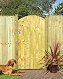 Grange Fencing Ltd Arched Feather Edge Gate