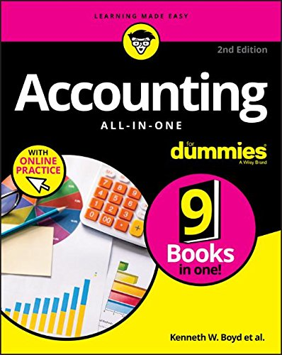 Accounting All-in-One For Dummies, with Online Practice [Boyd, Kenneth W.] (Tapa Blanda)