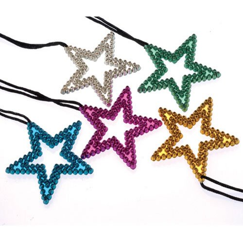 Metallic Star Necklaces
