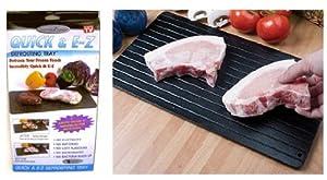Gourmet Trends Quick & EZ Defrosting Tray