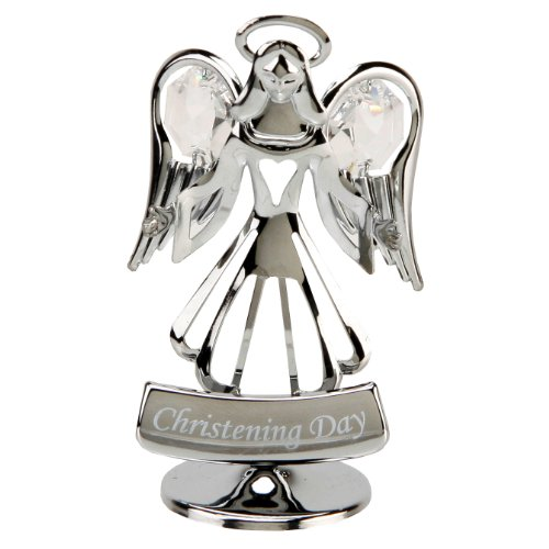 CRYSTOCRAFT CHRISTENING DAY ANGEL