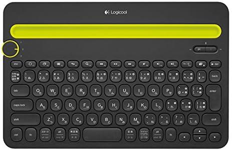 LOGICOOL Bluetoothマルチデバイス キーボード ブラック k480