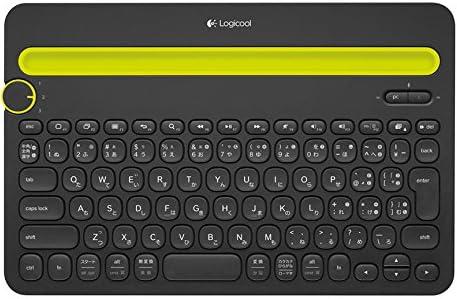 Logicoolロジクール Bluetooth マルチデバイス キーボード (Windows、Mac、Android、iOS対応) K480 ブラック