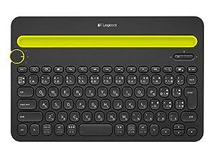 一台で三役分のキーボード、K480BK ロジクールワイヤレスキーボード