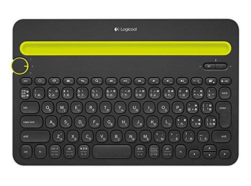 LOGICOOL Bluetooth マルチデバイス キーボード ブラック k480 -