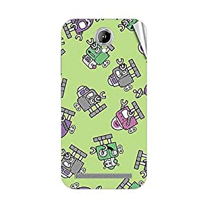 Garmor Designer Mobile Skin Sticker For Gionee P4 - Mobile Sticker