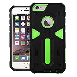 Apple iPhone 6 Case, DEFENDER Dual Layer Back cover For Apple iPhone 6 (Green)