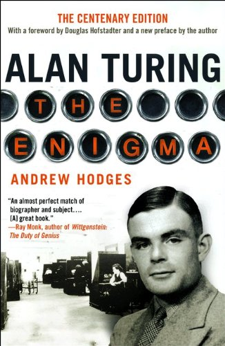 Book cover to 'Alan Turing: The Enigma'
